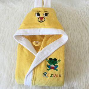 Halat galben copii personalizat