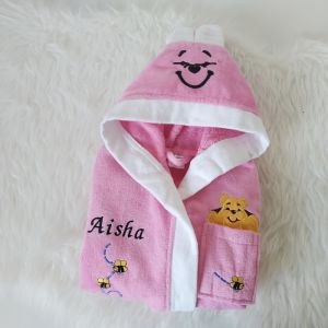 Halat roz fete imscriptionat cu nume
