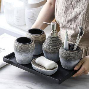 Set de baie elegant din ceramica