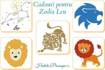 Cadouri personalizate pentru zodia Leu